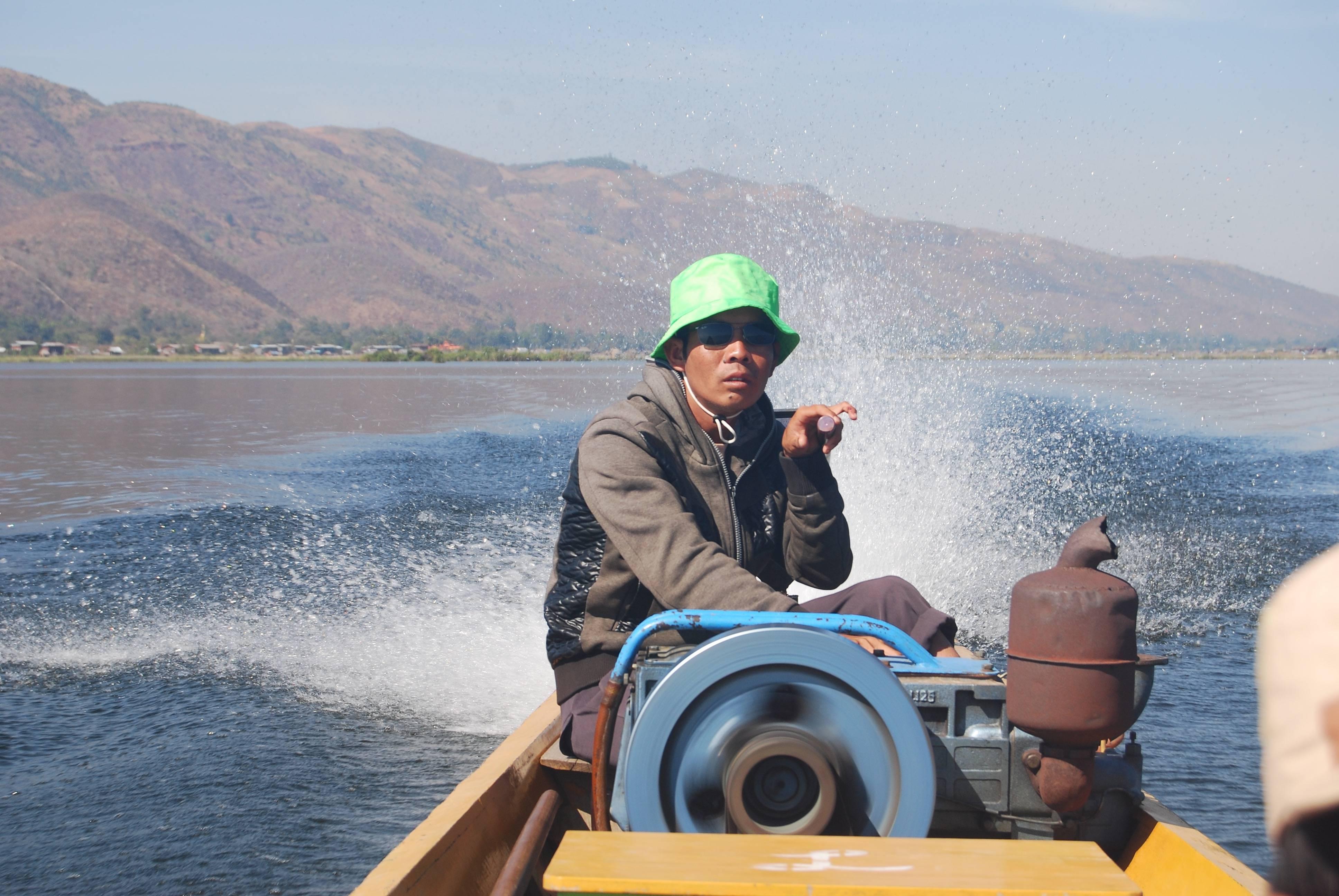 Båttur på Inle lake