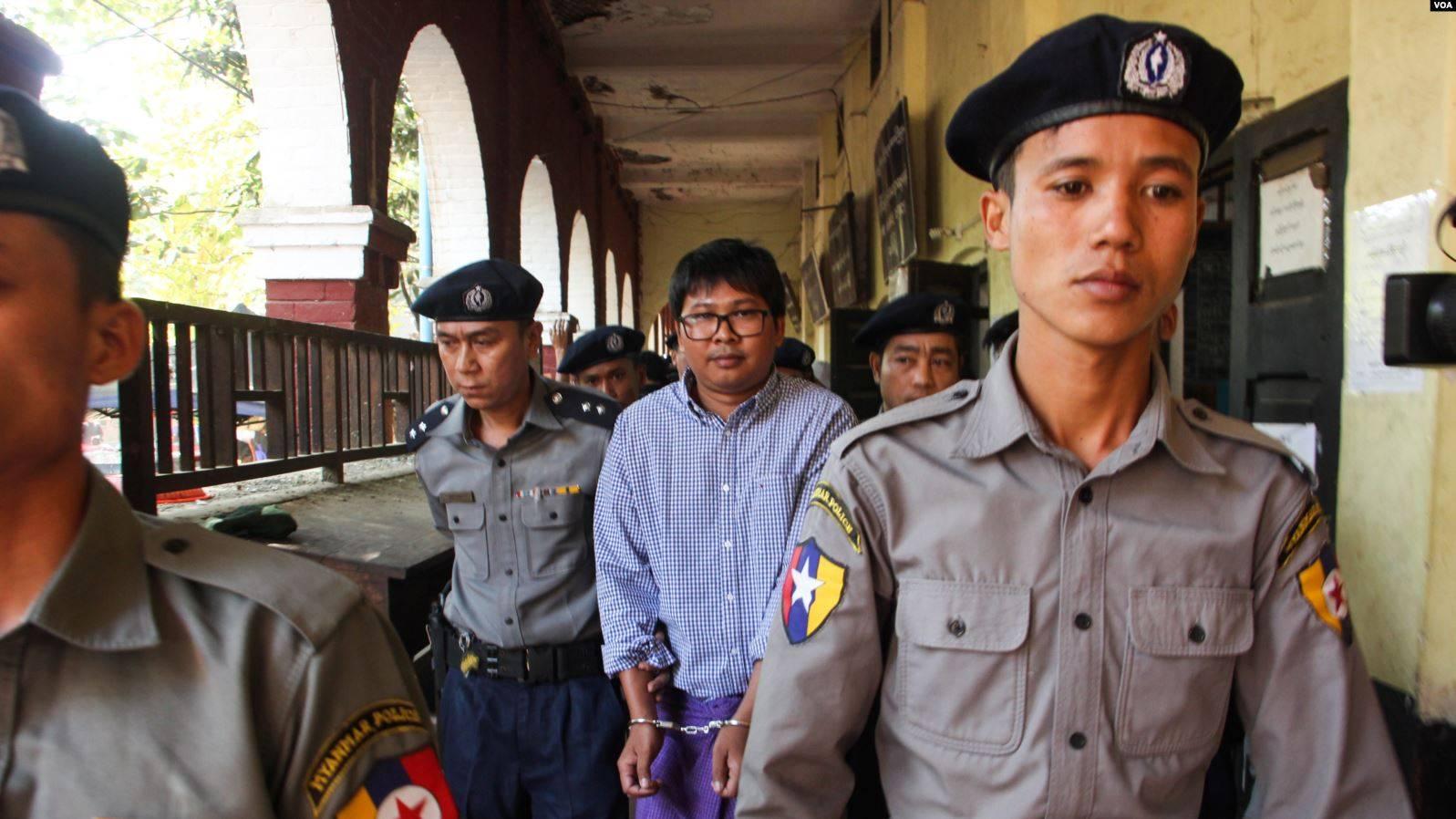 Wa Lone och Kyaw Soe Oo frigivna